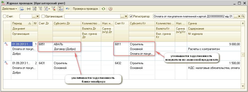 люблю тебя бухгалтерские проводки операций на терминале выполняет функцию